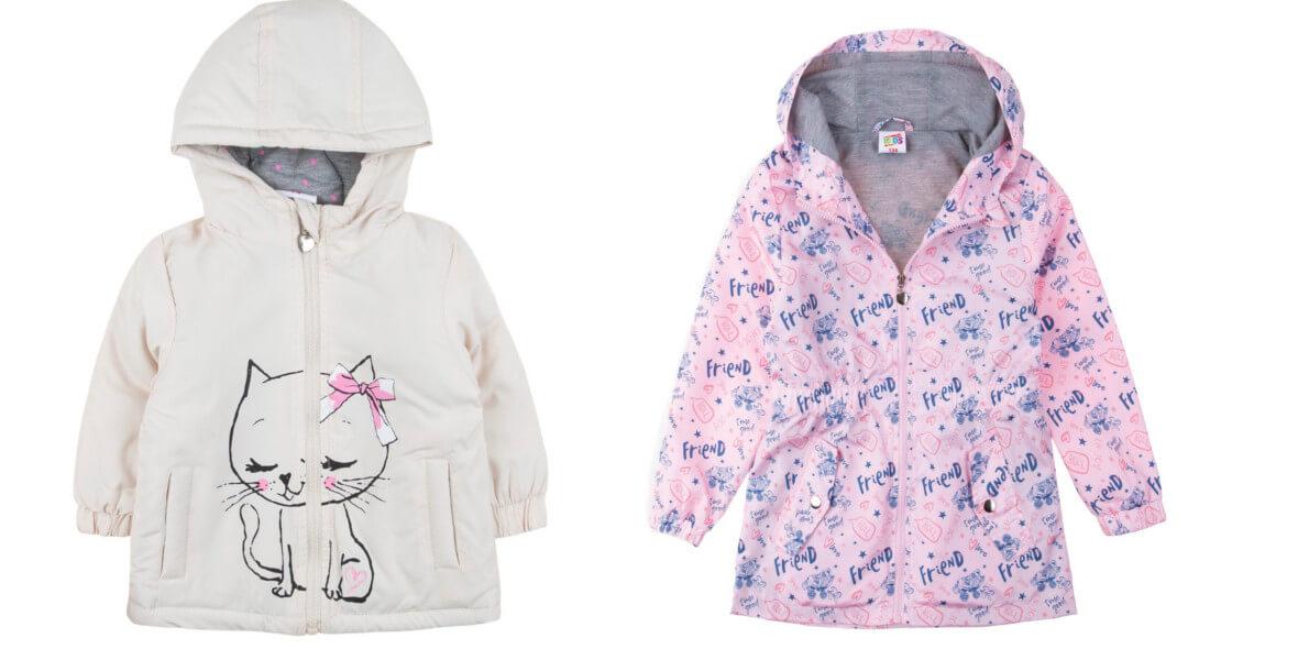 za kurtki przejściowe dla dzieci