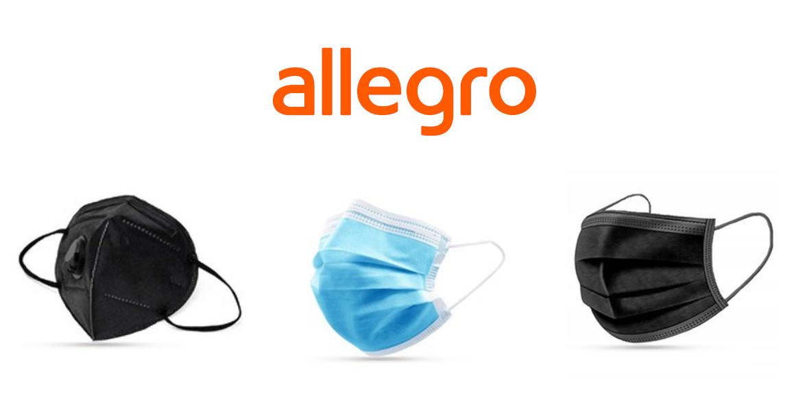 Allegro.pl: Od 1 zł za maseczkę ochronną 25.02.2021