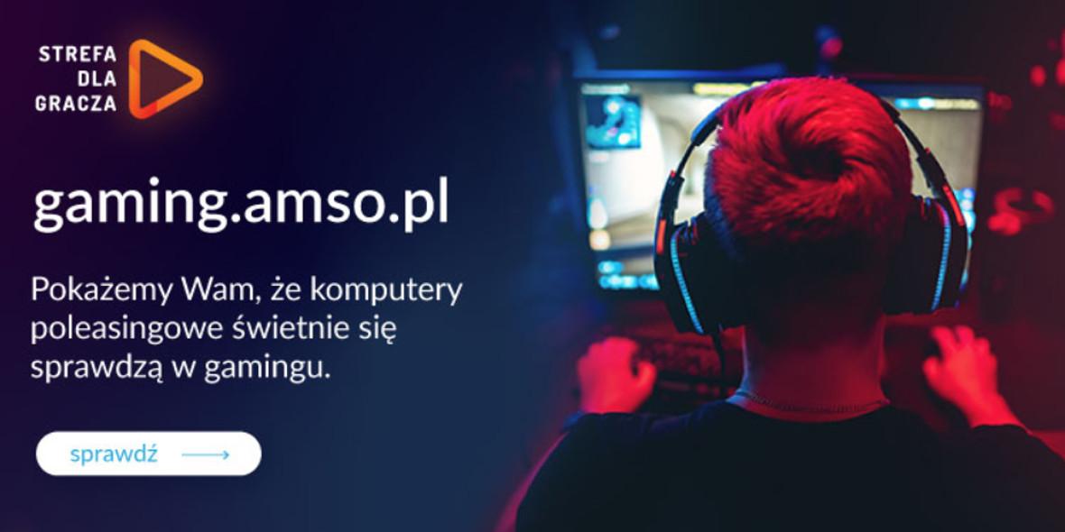 AMSO:  Komputery gamingowe w promocyjnych cenach 11.12.2020