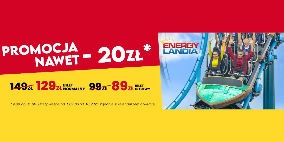 Groupon.pl: Od 89 zł za wstęp do parku rozrywki EnergyLandia 14.05.2021