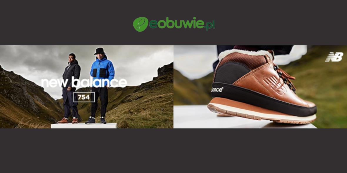 eobuwie.pl: Do -50% na markę New Balance 13.01.2021