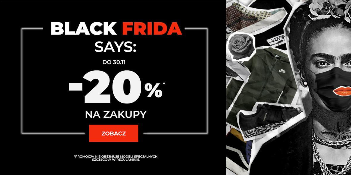 Sizeer: -20% na streetwear 23.11.2020