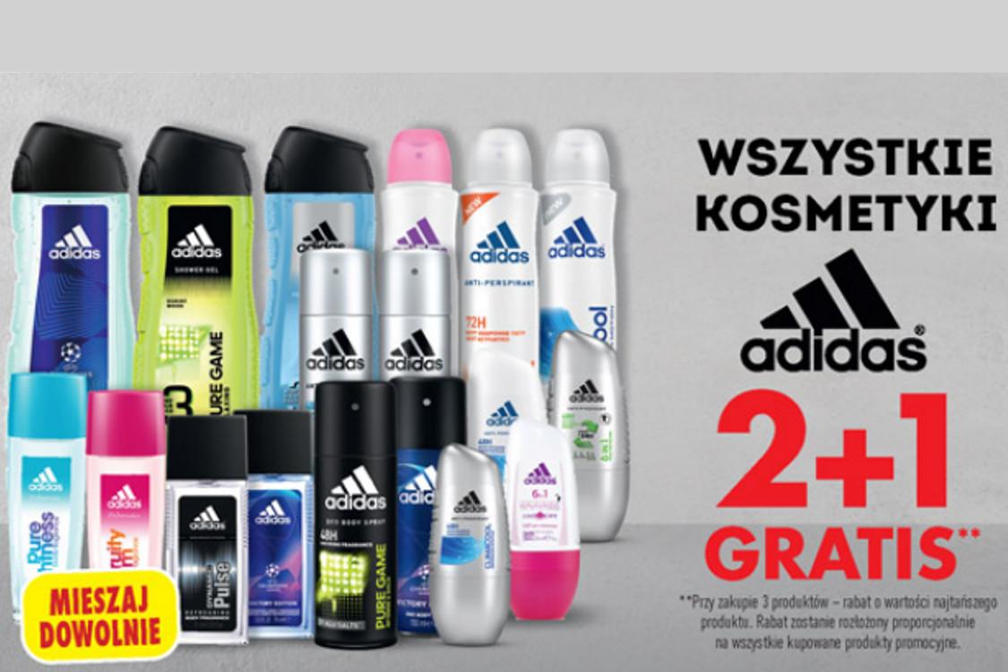 Biedronka: 2 + 1 2 + 1 na wszystkie kosmetyki adidas 19.04.2021