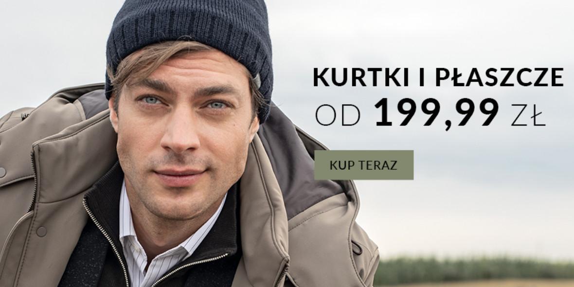 Recman: Od 199,99 zł za kurtki i płaszcze 06.10.2021