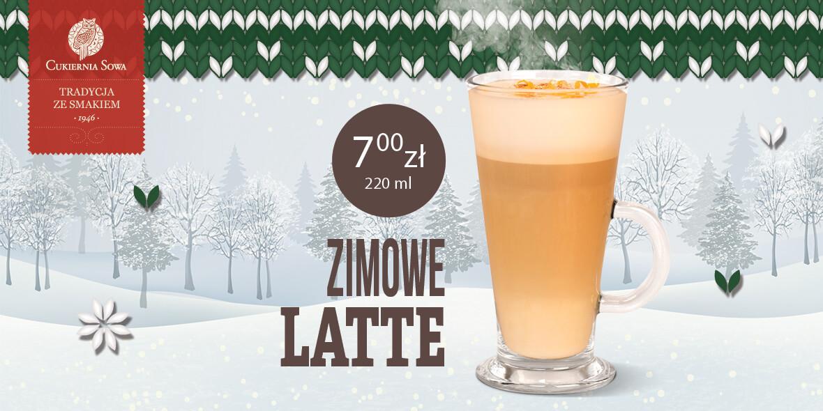 """za kawę """"Zimowe latte"""""""