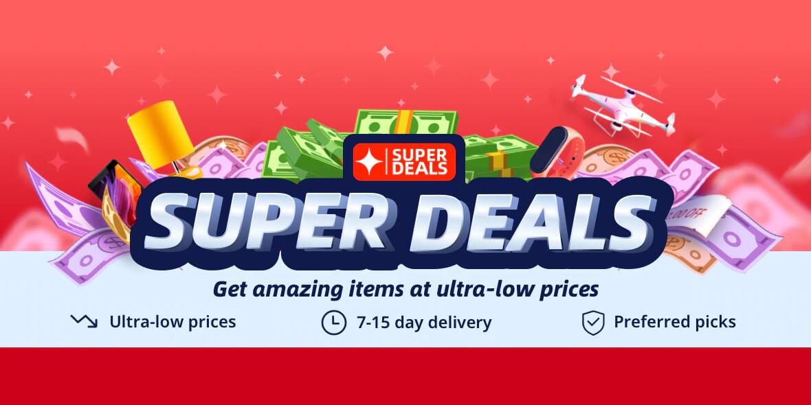 AliExpress: Kody Super Deals na AliExpress 01.03.2021