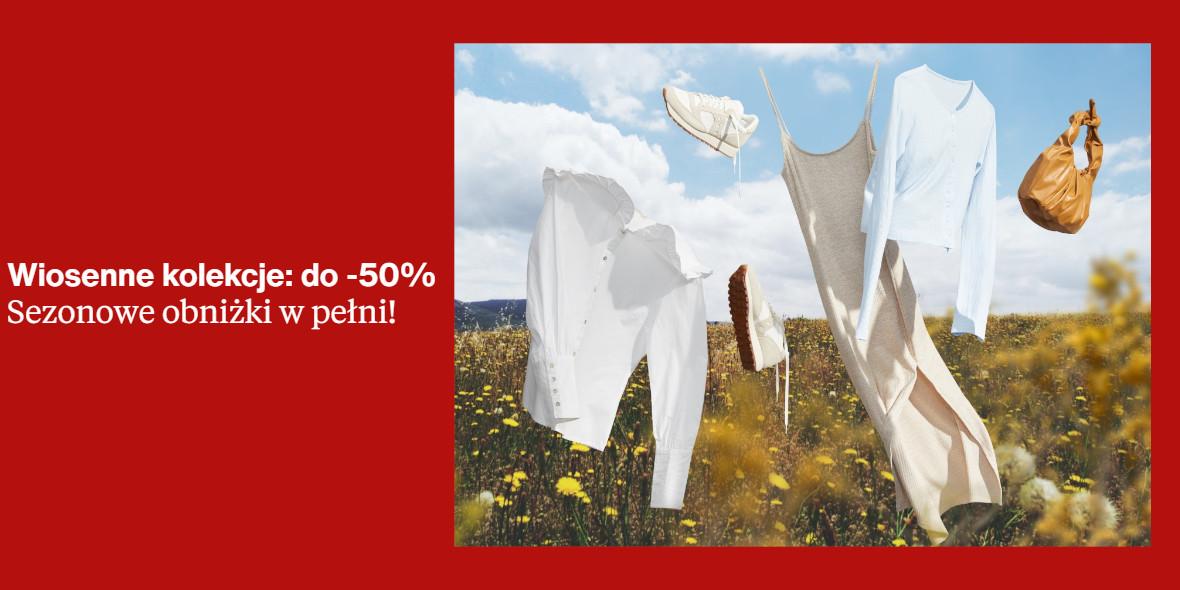 Zalando: Do -50% na wiosenne kolekcje 29.03.2021