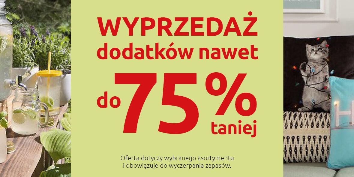 Black Red White: Do -75% na dodatki