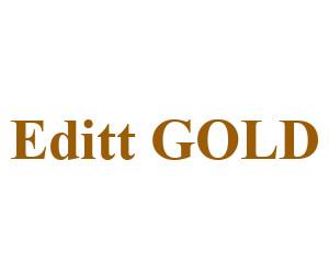 Logo EDITT GOLD