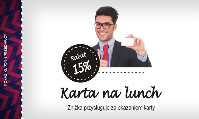 - 15% na lunch