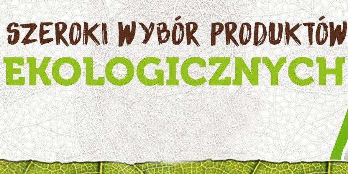 na produkty ekologiczne