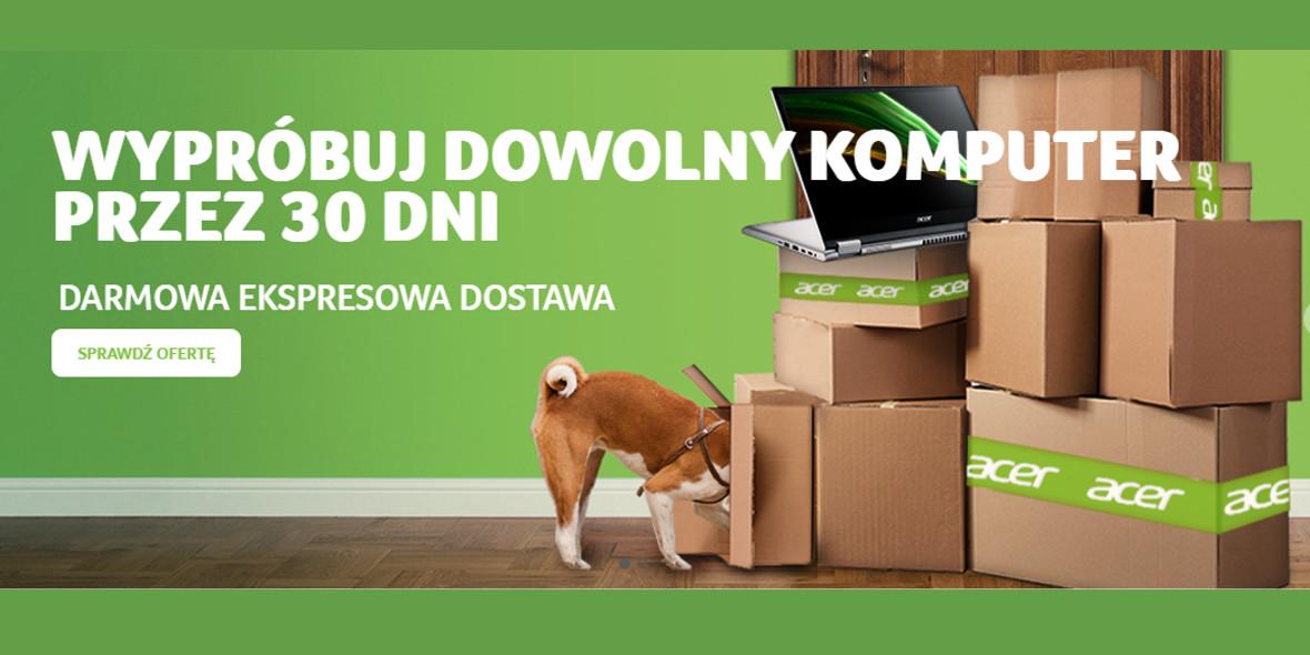 Acer: Darmowa szybka dostawa i zwrot