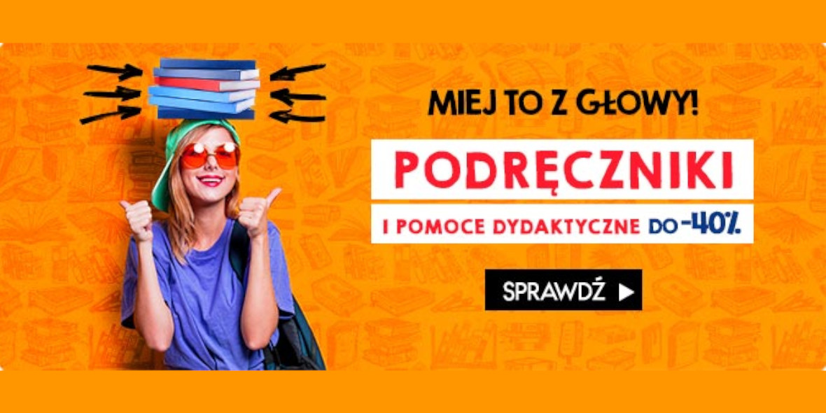 TaniaKsiazka.pl: Do -40% na podręczniki i art. szkolne