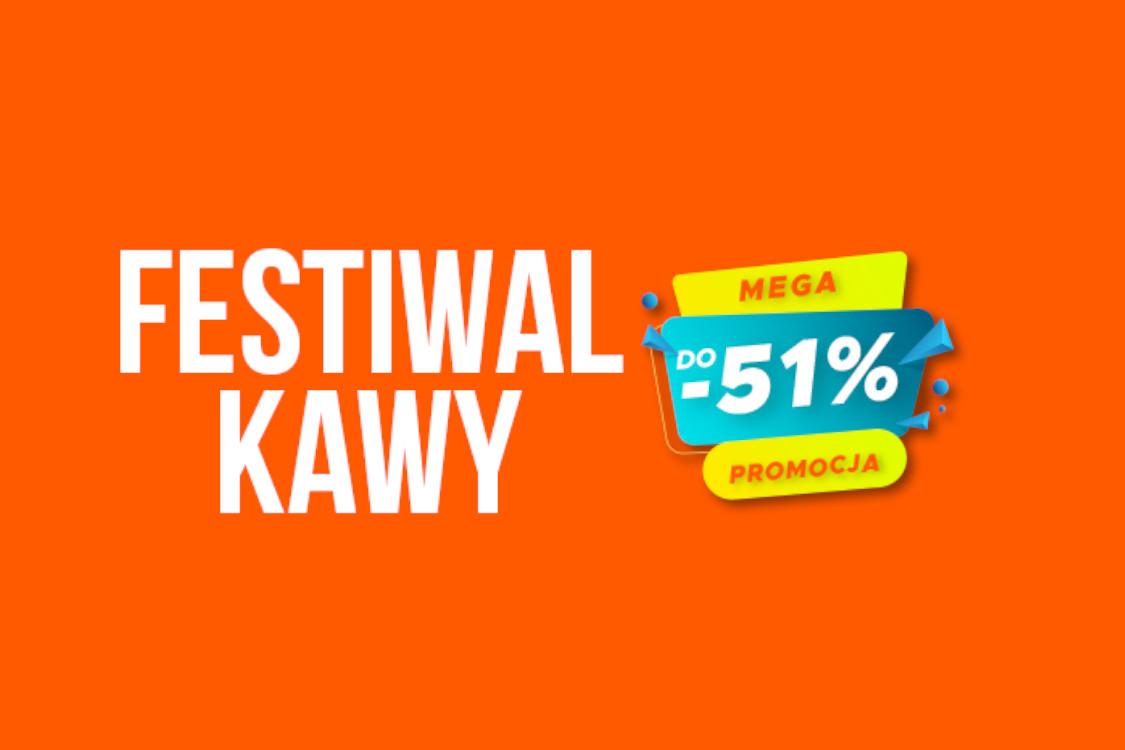 Allegro: Do -51% na Festiwalu Kawy