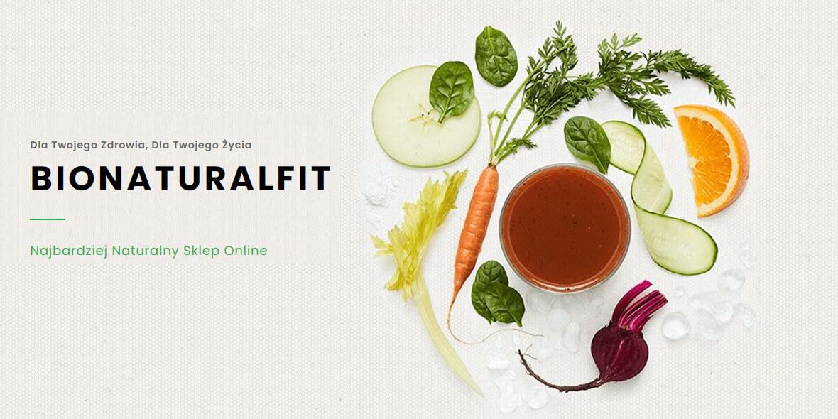 BionaturalFit: -10% na pierwsze zakupy