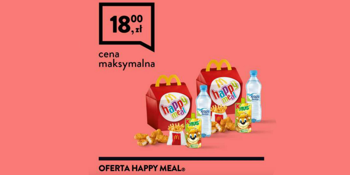 za 2 x Happy Meal®