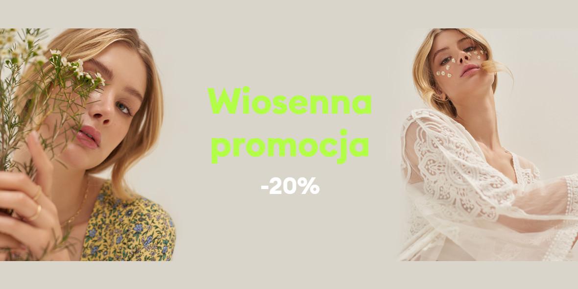 Sinsay: Kod: -20% na wiosennej promocji 10.05.2021