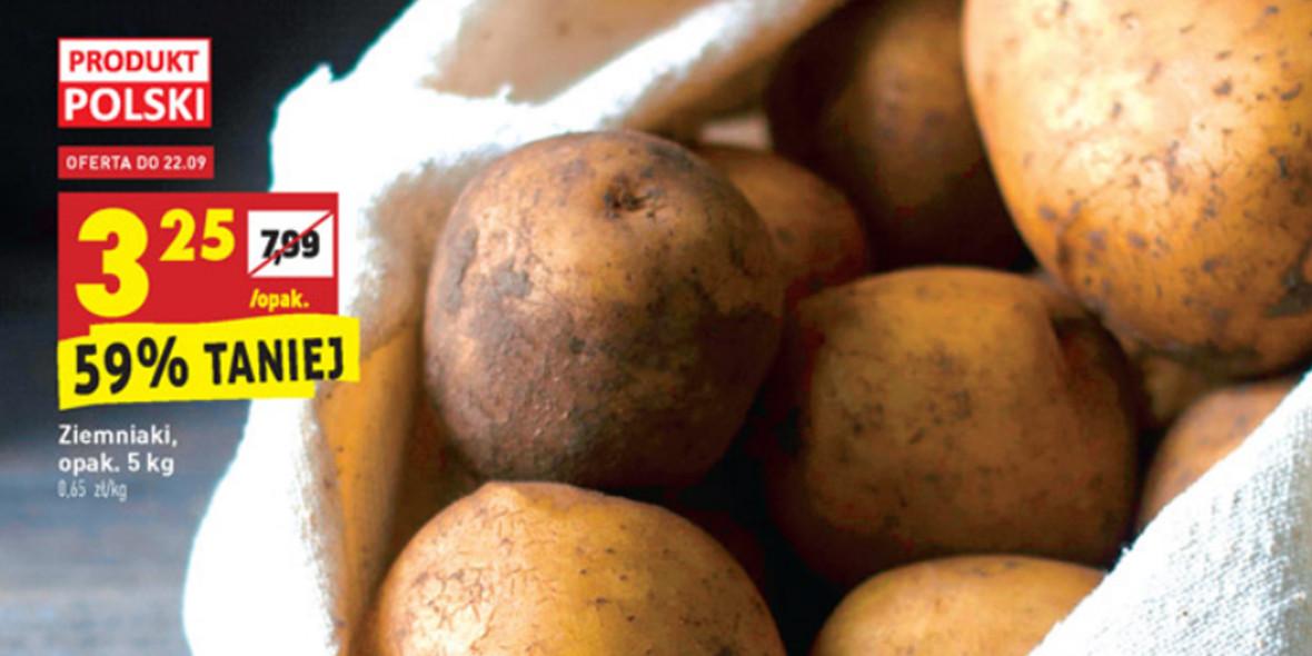 Biedronka: -59% na ziemniaki polskie opak. 5 kg 20.09.2021