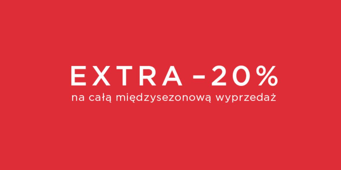 Mohito: Kod: -20% na całą wyprzedaż 21.04.2021