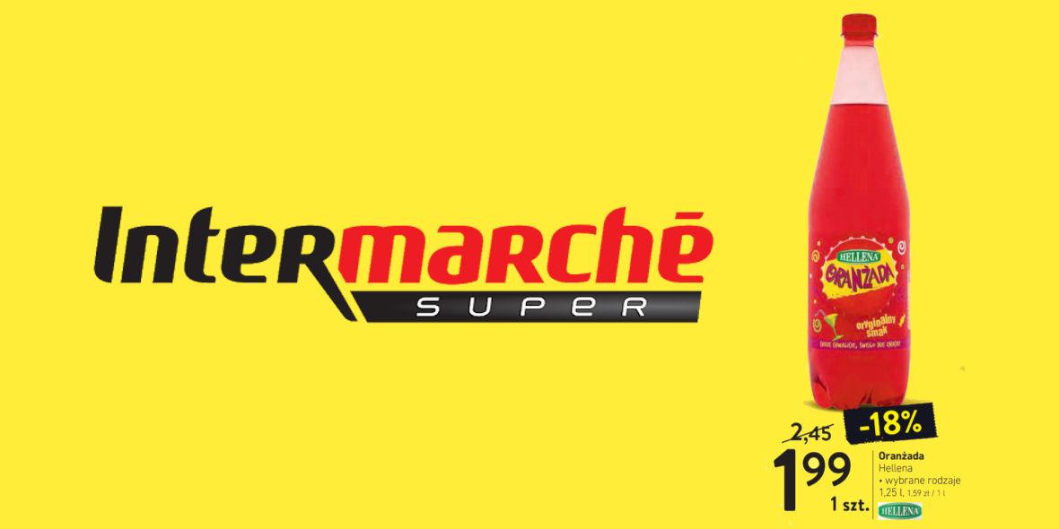 Intermarché: 1,99 zł za butelkę 1,5 l oranżady Hellena 19.01.2021