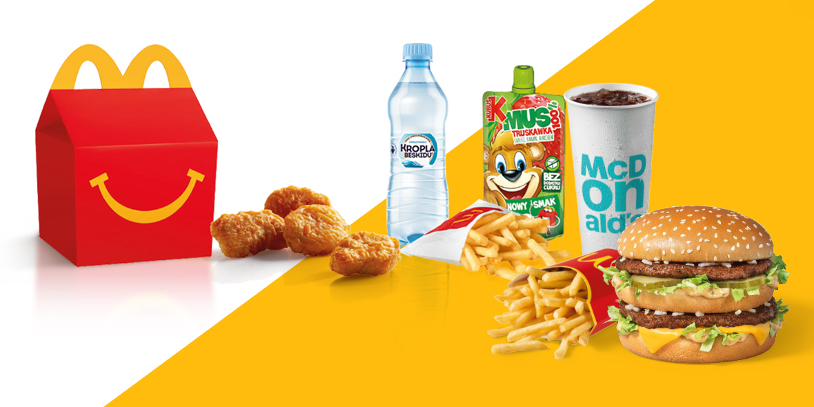 McDonald's: Gratis Happy Meal® w McDonald's