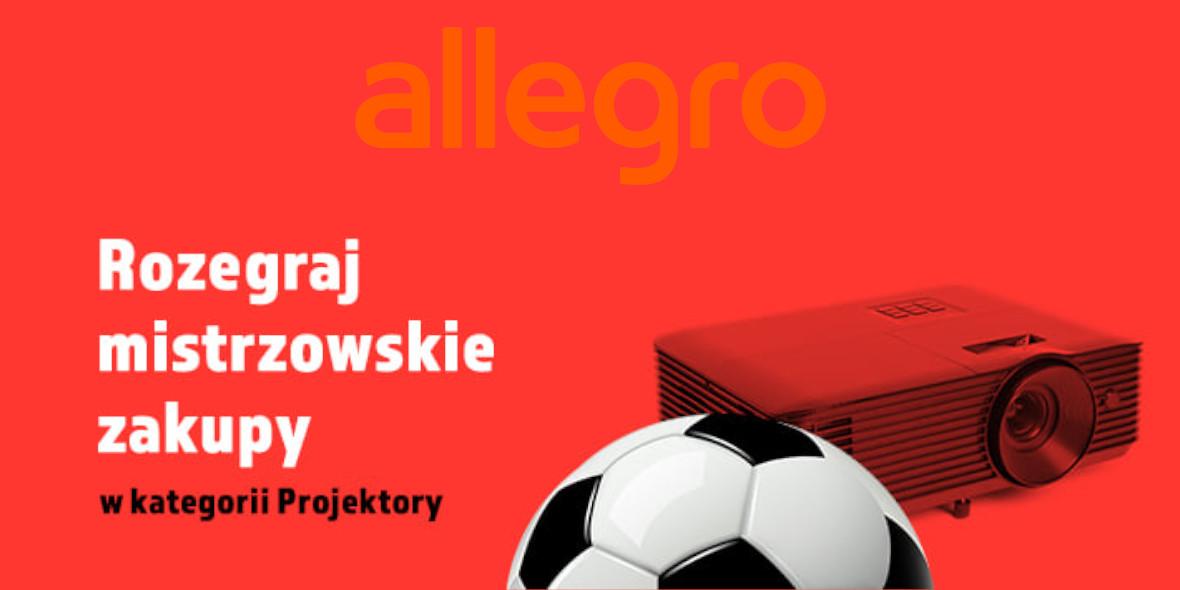 Allegro: Nawet -35% w kategorii Projektory 11.06.2021