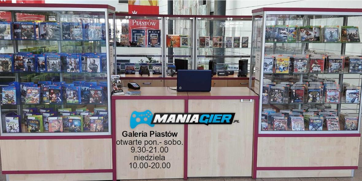 Mania Gier: -10% na wszystko w Galerii Piastów 30.09.2020