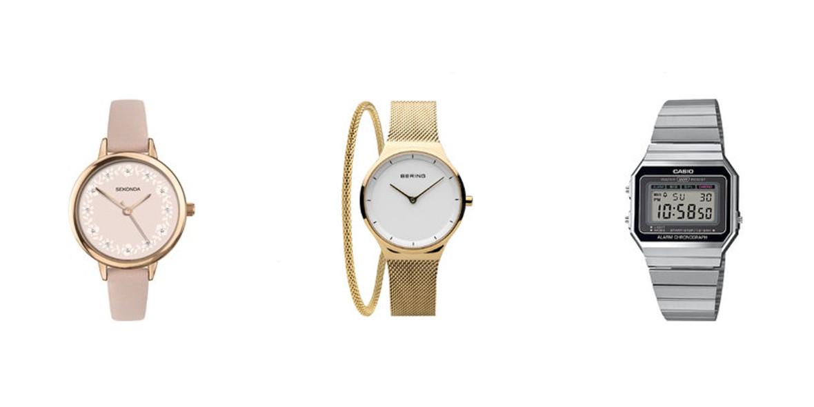 damskich zegarków
