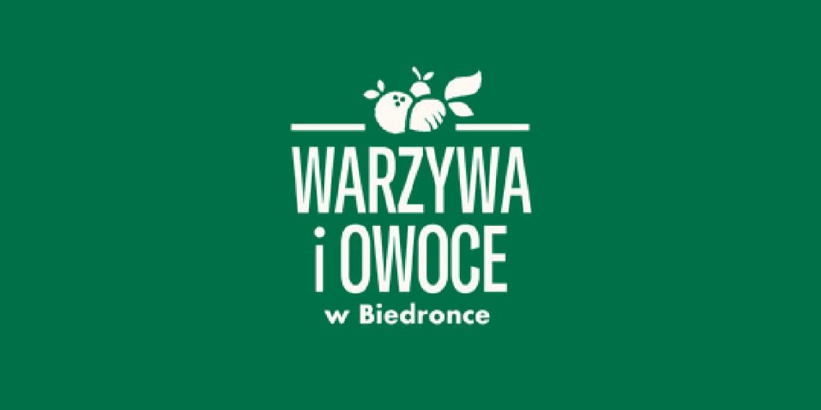 Biedronka:  Warzywa i Owoce w Biedronce 14.06.2021