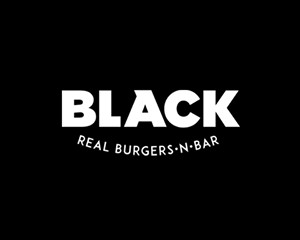 Logo BLACK Real Burgers N' Bar