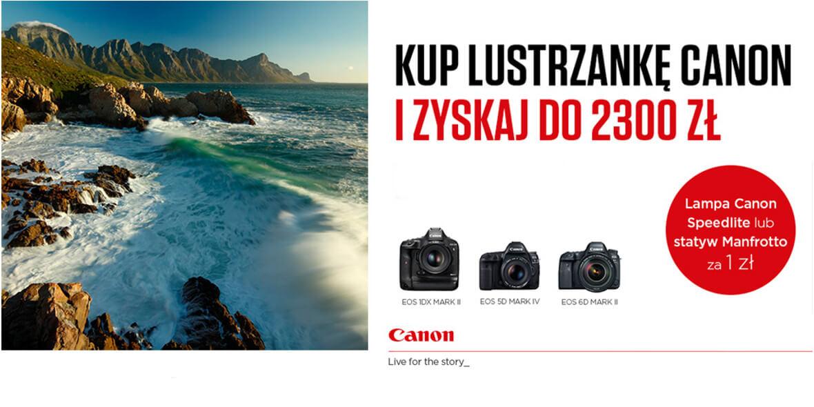 cashback za sprzęt foto marki Canon