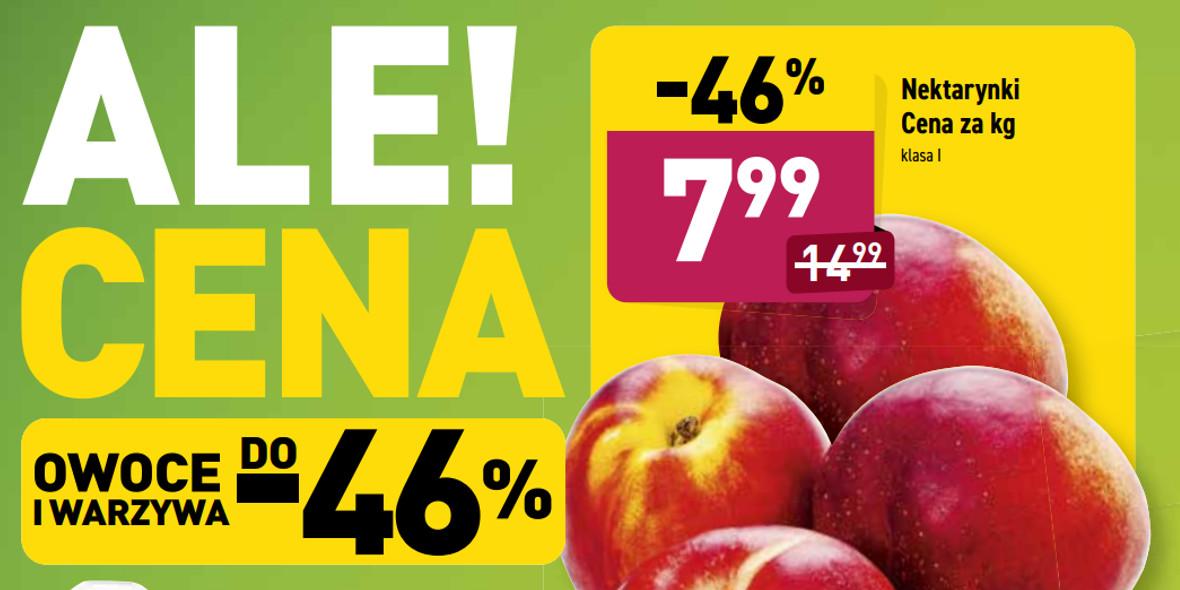 Aldi: -46% na nektarynki 14.06.2021