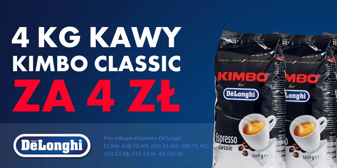 za 4 kg kawy przy zakupie ekspresu