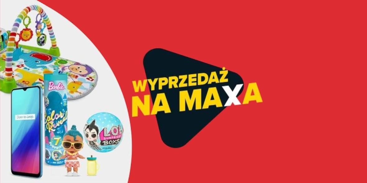 Carrefour:  Wyprzedaż na Maxa 29.12.2020