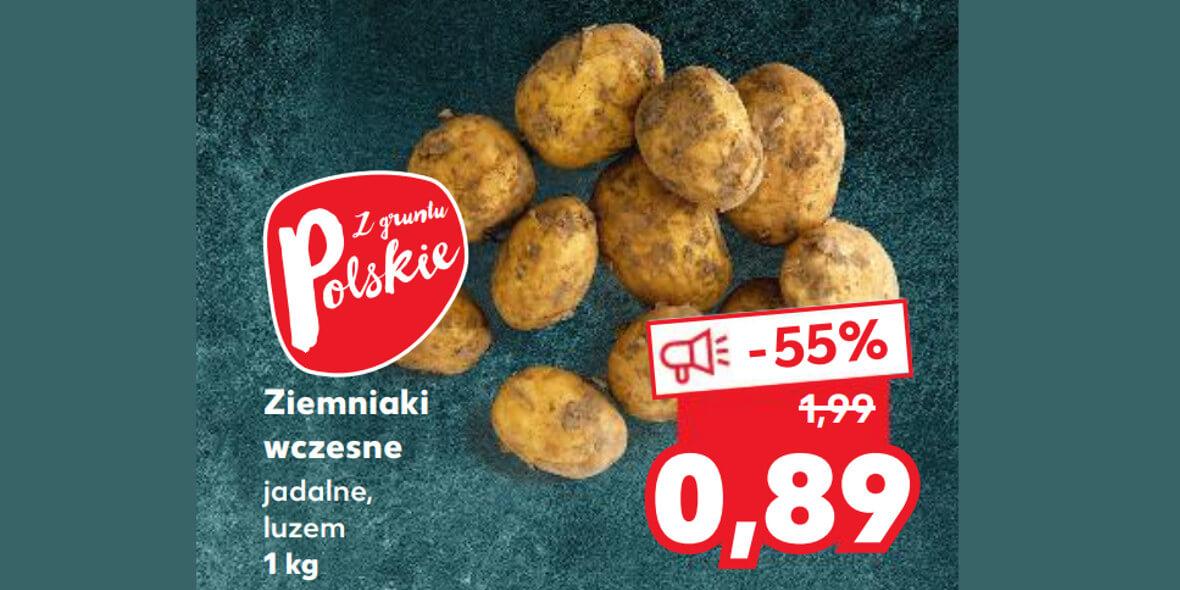 Kaufland: -55% na ziemniaki wczesne 05.08.2021