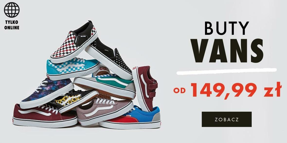 50 style: Od 149,99 zł za buty Vans 26.09.2021