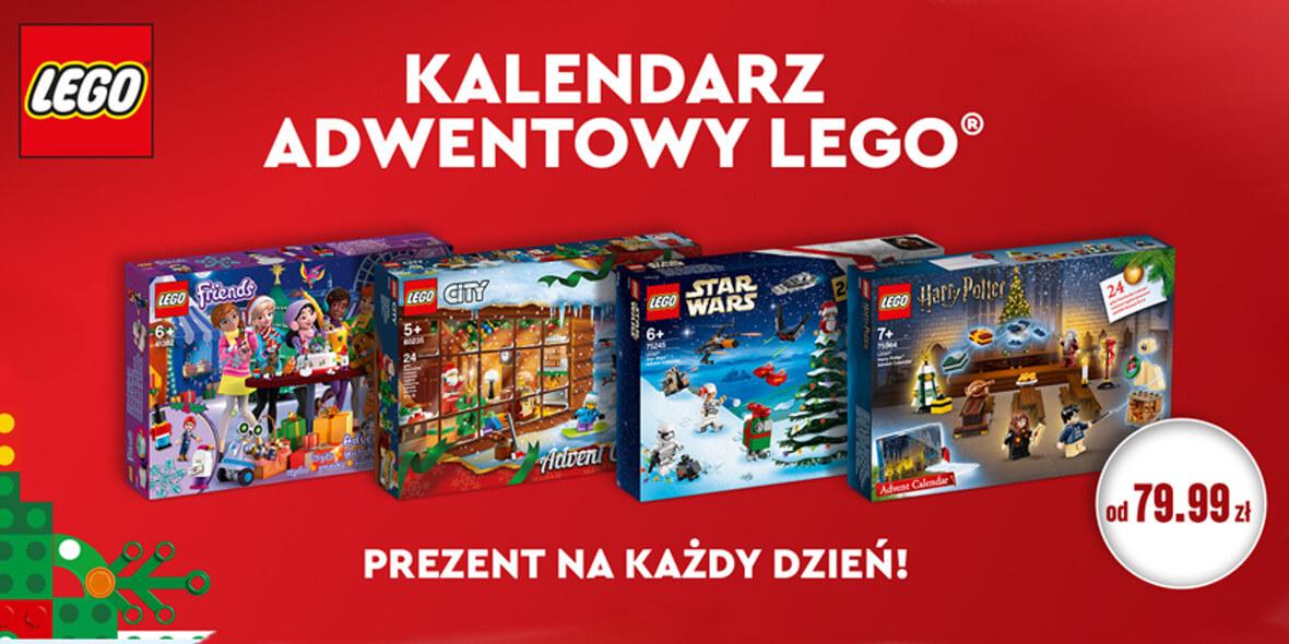 za kalendarze adwentowe z LEGO
