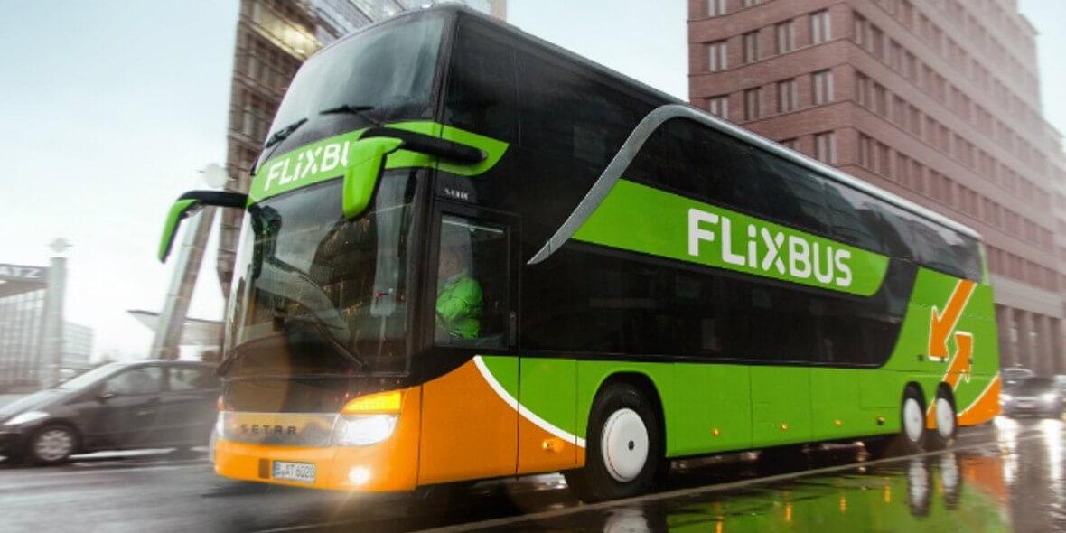 za bilet krajowy w jedną stronę z FlixBus