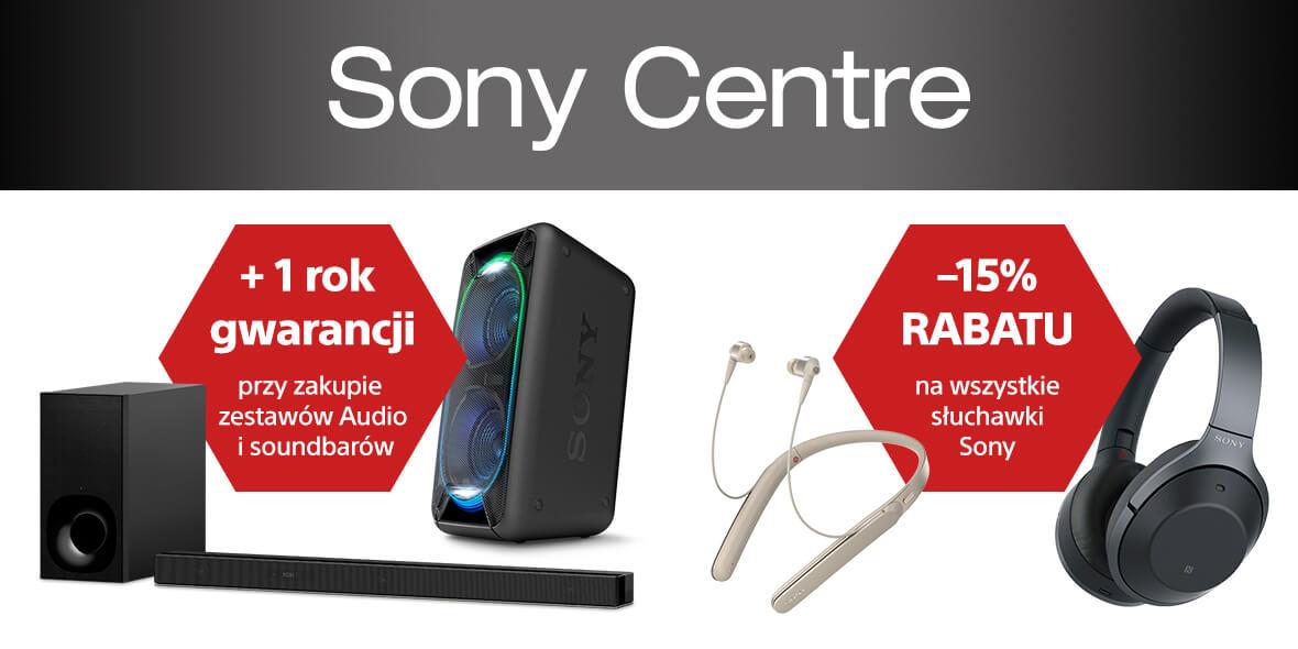 na wszystkie słuchawki Sony
