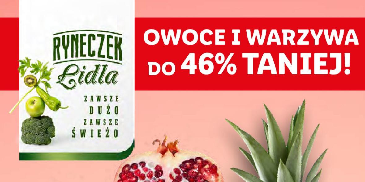 Lidl: Do -46% na warzywa i owoce 14.10.2021