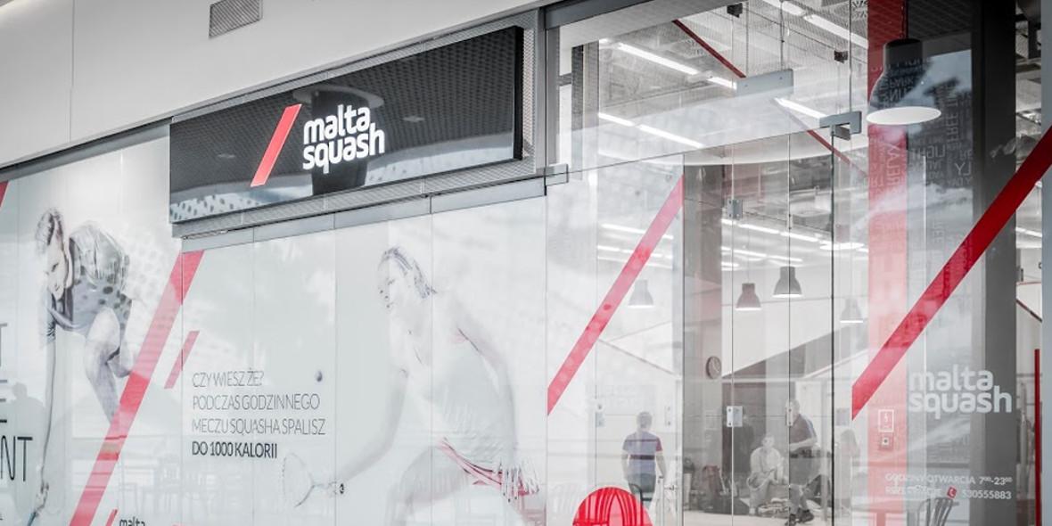 Malta Squash: -10% na wynajem kortów w Galerii Malta