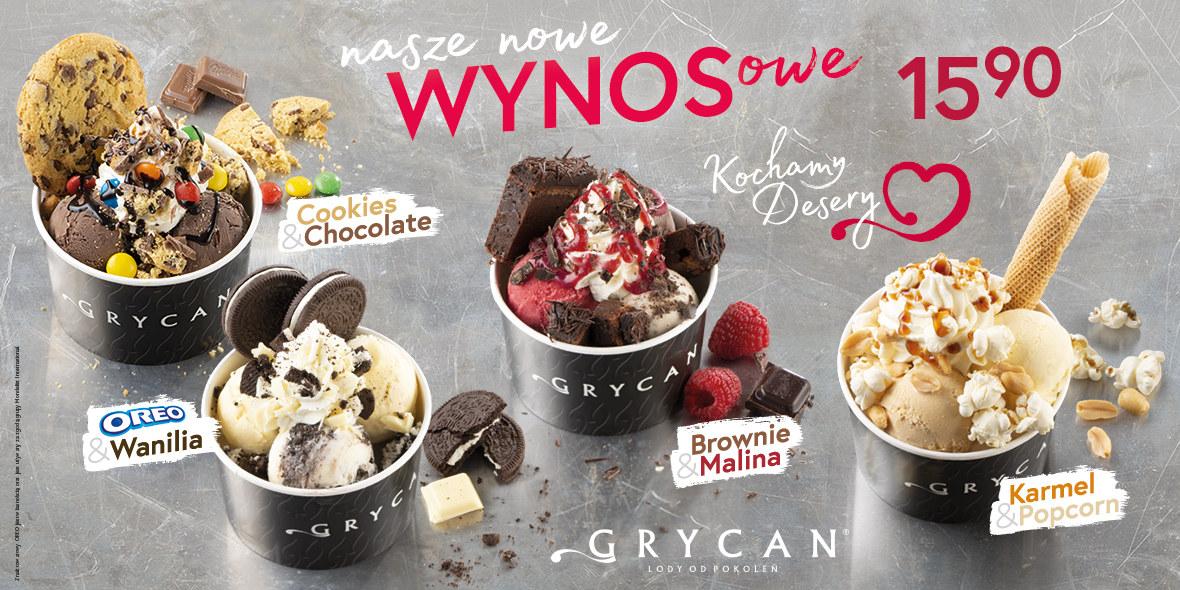 Grycan:  NOWE desery  na WYNOS 27.02.2021