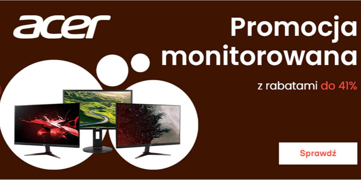 morele.net:  Kod: do -41% na monitory Acer 03.08.2021