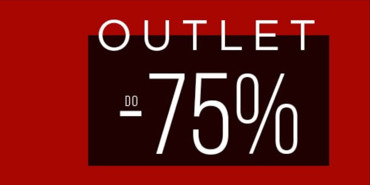 Giacomo Conti: Do -75% na produkty z outlet