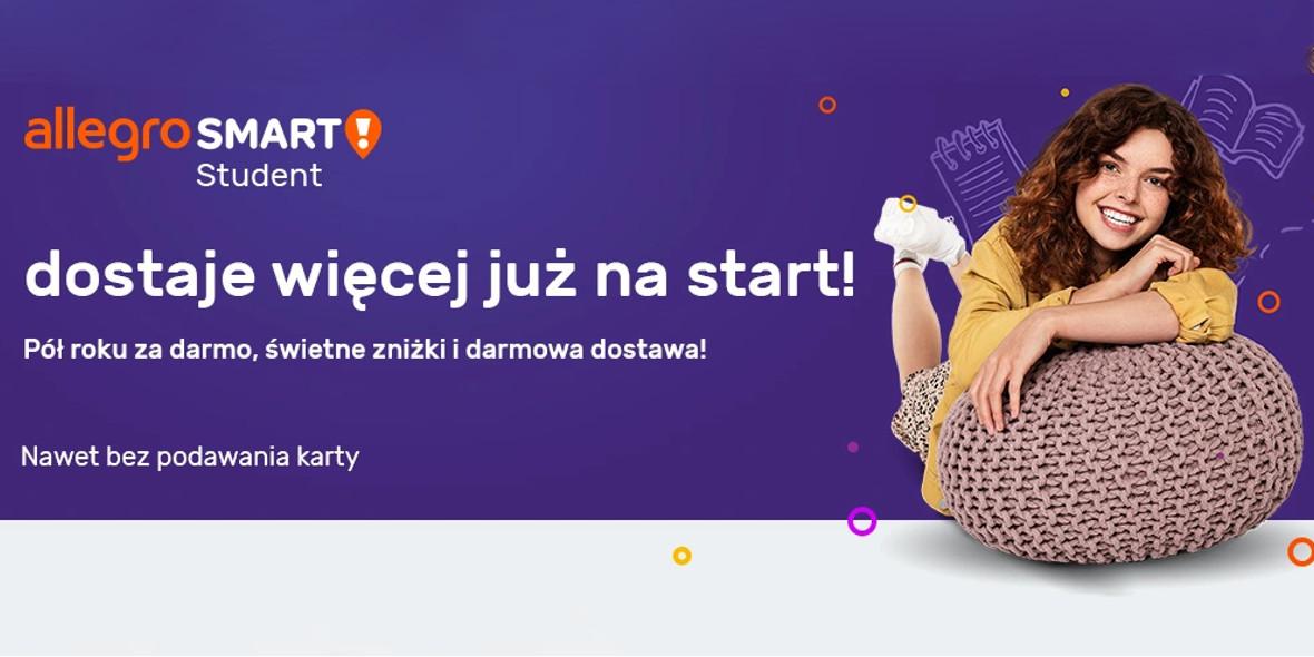 Allegro.pl: Za darmo Allegro Smart dla studenta 01.01.0001