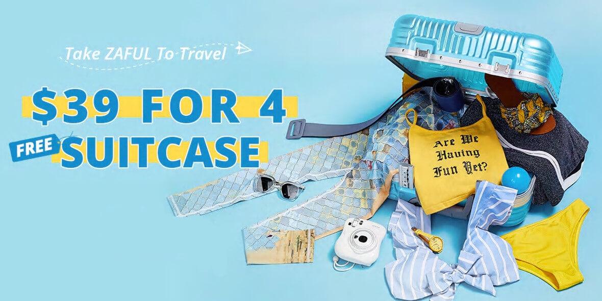 za 4 walizki
