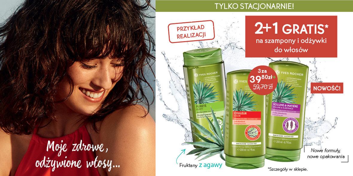 na szampony i odżywki do włosów