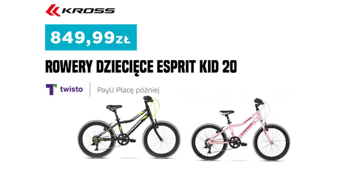 Go Sport: Od 199,99 zł za rowery dziecięce