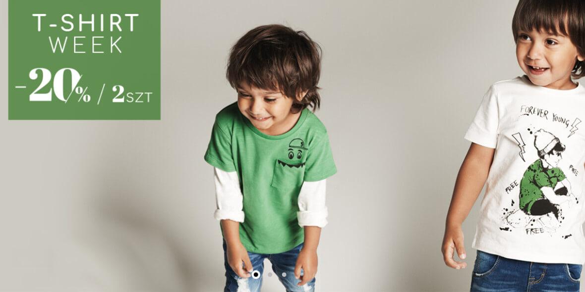 na 2 T-shirty dla dziecka