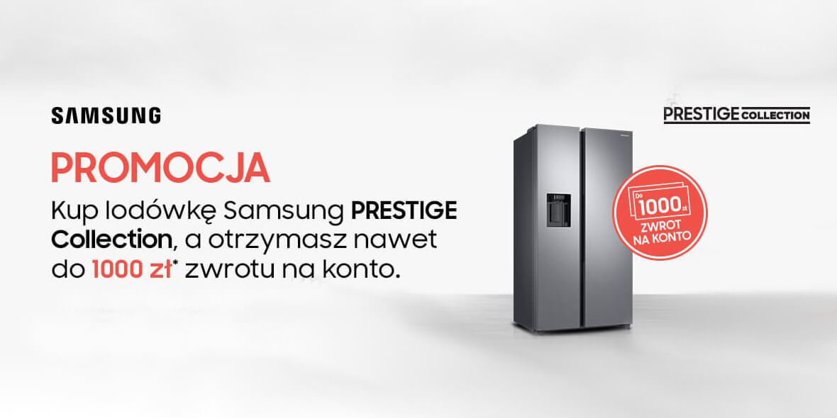 za lodówkę Samsung PRESTIGE COLLECTION